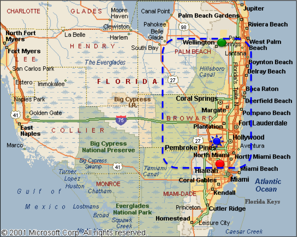 Map Of South Florida Cities.About Us Asap Gate Plus